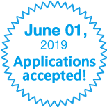June 01, 2019. Applications accepted!