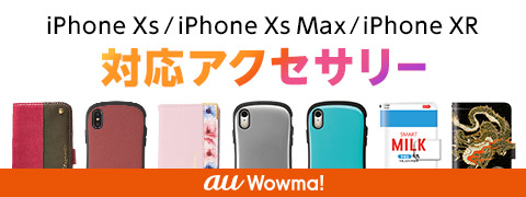 iPhone XS/iPhone XS Max/iPhone XR対応アクセサリー