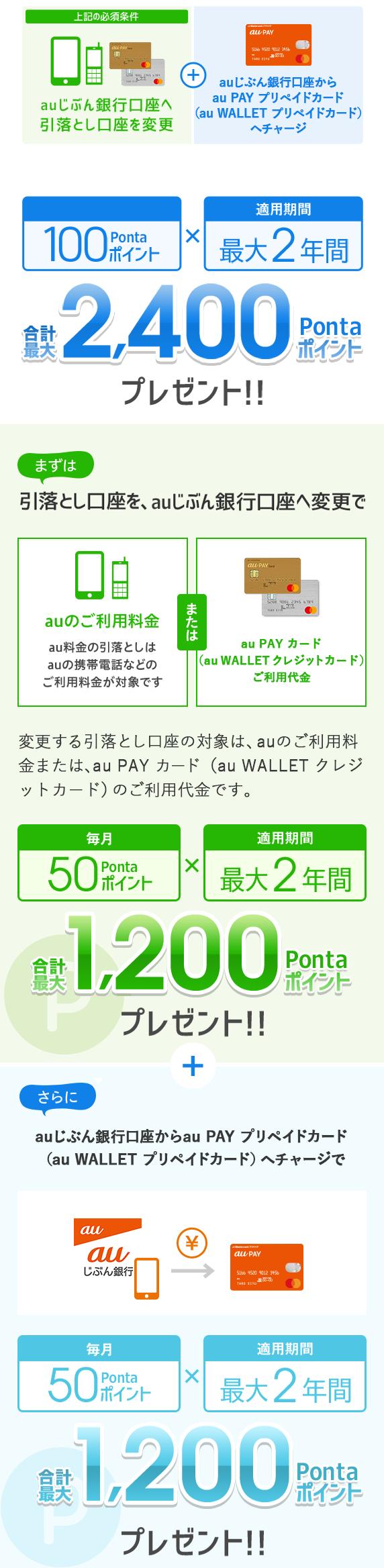Pay カード au プリペイド