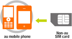 SIM Unlocking Procedures | Smartphone or mobile phone users | au