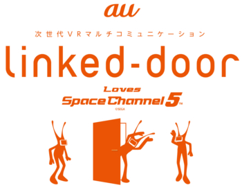「Linked-door loves Space Channel 5」イメージイラストの画像