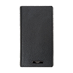 Xperia(TM) XZ1 GRAMAS COLORS EURO Passione 2 Leather Case/ブラック画像