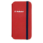 Rollbahn(R) flapcase for iPhone XR/red画像