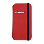 Rollbahn(R) flapcase for iPhone XS/red画像