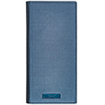 Galaxy Note9 GRAMAS COLORS EURO Passione 2 Leather Case/Metallic Navy画像