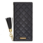 Galaxy Note9 GRAMAS COLORS QUILT Leather Case/Black画像