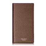 GRAMAS Full Leather Case Limited for iPhone 8/Brown画像