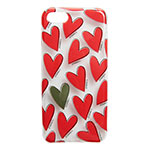 IPHORIA Hearts Red for iPhone 8画像