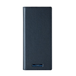 Xperia 1 GRAMAS COLORS EURO Passione 2 Leather Case/Metallic Navy画像
