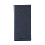Galaxy S10 GRAMAS COLORS EURO Passione 2 Leather Case/Metallic Navy画像