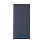 Galaxy S10+ GRAMAS COLORS EURO Passione 2 Leather Case/Metallic Navy画像