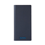 Galaxy A30 GRAMAS COLORS EURO Passione 2 Leather Case/Metallic Navy画像
