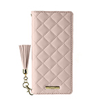 Galaxy A30 GRAMAS COLORS QUILT Leather Case/Pink画像