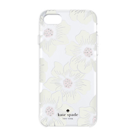 iPhone 7用 kate spade/Hollyhock Floral Clear画像