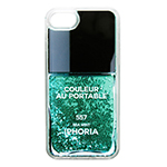 IPHORIA Nail Polish Turquoise for iPhone 8画像