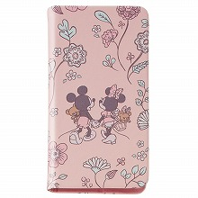 (C)Disney iPhone SE用 ブックタイプケース/Disney pass SpringWalk
