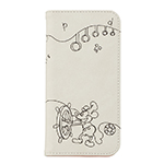 ブックタイプケース/Disney pass Steamboat Willie Line Art画像