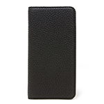 LORNA PASSONI Kipskin Leather Folio Case/Black画像
