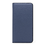 LORNA PASSONI Kipskin Leather Folio Case/Navy画像