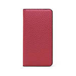 LORNA PASSONI Kipskin Leather Folio Case/Pink画像