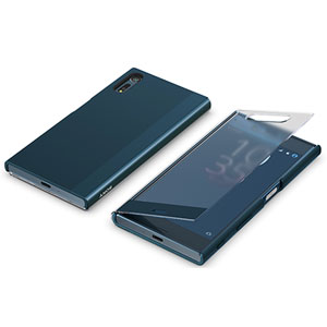 Xperia™ XZ Style Cover Touch/Forest blueのイメージ図